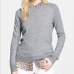"Equipment ""Sloane"" lightweight grey sweater xs"