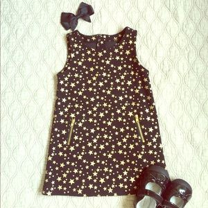 Epic Threads Other - Epic Threads-Macy's 2T girls black and gold dress