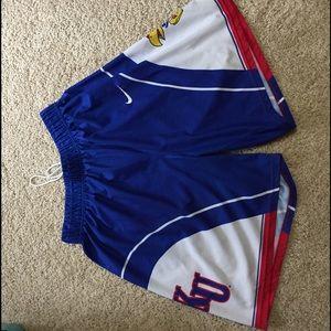 Nike Other - Kansas Jayhawks Basketball Shorts