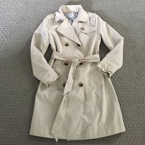 Gap factory trench coat