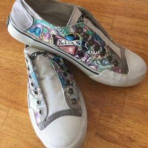 Ed Hardy Shoes - Ed Hardy shoes sneakers slip ons