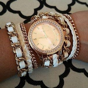 bebe Accessories - Bebe wrap watch