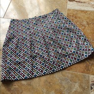 Apollo Jeans Dresses & Skirts - Brightly colored mini in geometric spandex