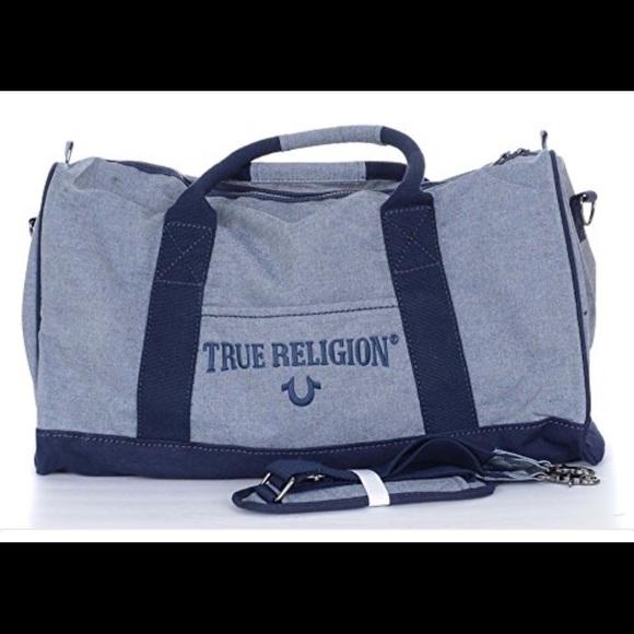 True Religion Duffle Bag Indigo 5e6dfb5d394e6