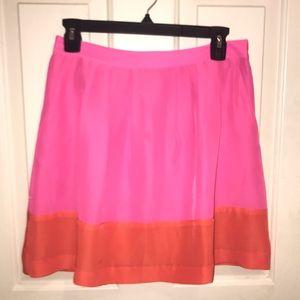 EUCJ.CREWPINK/ Orange Mini Skirt