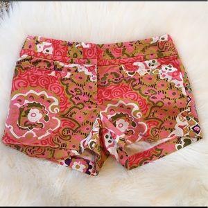 J. Crew Pants - J. Crew Cotton Medallion Shorts