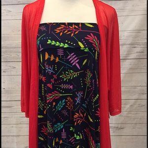 LuLaRoe Other - LuLaRoe Azure Dress-Skirt XL / Lindsay M bundle!!!