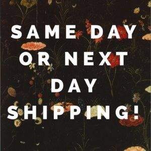 ✨ SAME or NEXT DAY SHIPPING