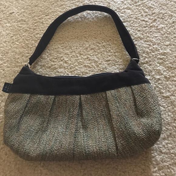1154 Lill Studio Handbags - Adorable 1154 Lill brown corduroy tweed purse