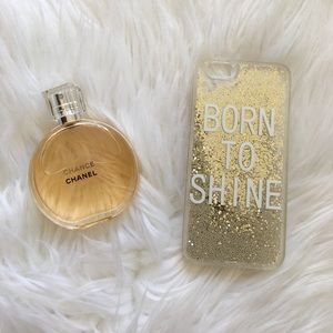 🆕 Born to Shine ✨Glitter iPhone Case