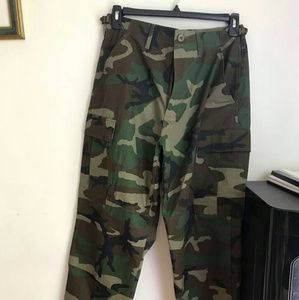 Other - Woodland camoflauge pants