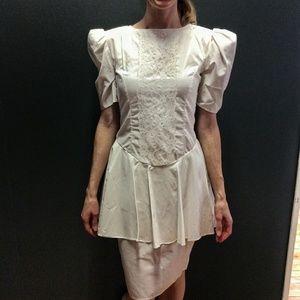 Gunne Sax Dresses & Skirts - VTG 80's white Gunne Sax Jessica McClintock dress