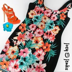 Bisou Bisou Dresses & Skirts - 🍉🍉SALE🍉🍉NWT Black Floral Dress