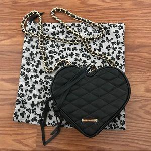 Rebecca Minkoff Handbags - Rebecca minkoff leather heart purse rare