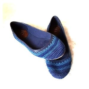 The Sak Shoes - THE SAK Frannie Ballet Flat in River Stripe