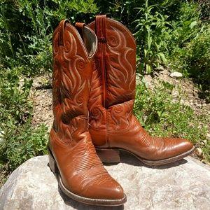 Dan Post Shoes - DAN POST WOMEN'S VINTAGE COWGIRL BOOTS 7D