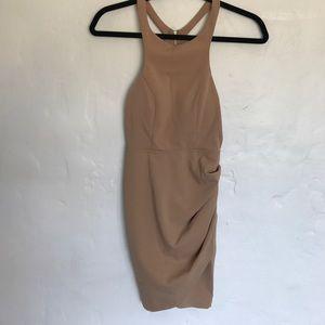 Angel Biba Dresses & Skirts - NEW. Never worn beige dress.