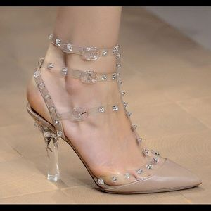 80a321f96dd Valentino Shoes - Valentino rock stud kitten heels - Nude color