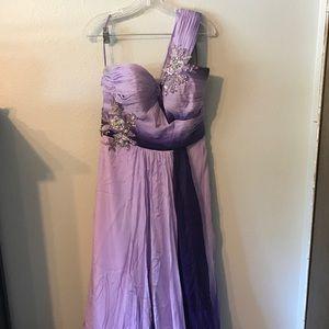 Allure Bridals Dresses & Skirts - Purple Ombré formal gown