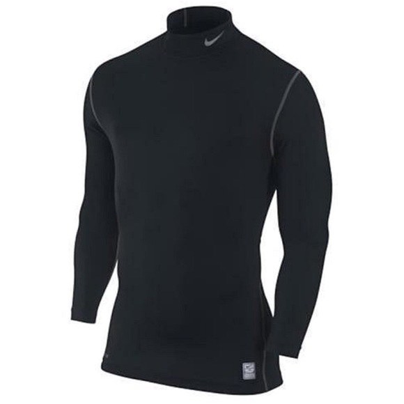 b8aaff80 Nike Shirts   Mens Pro Compression Mock Long Sleeve Shirt   Poshmark
