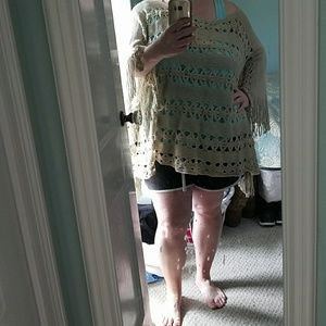 2 Chic Sweaters - 2 Chic Brand Poncho