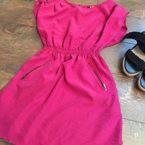H&M Fuchsia Dress