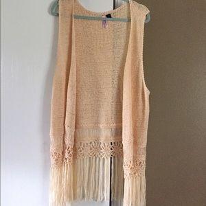 love by design Sweaters - Fringe style kimono!