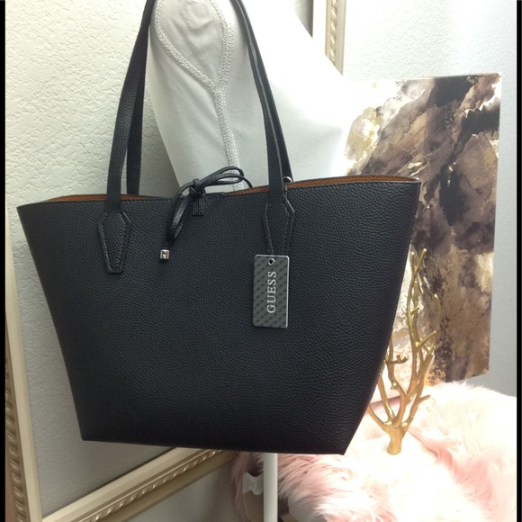 Guess Bobbi Inside Out (Reversible) Tote NWT