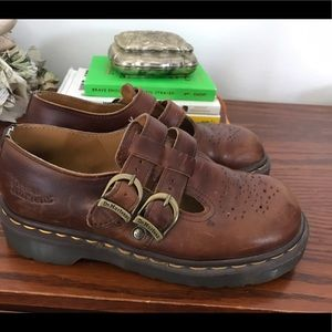 Dr. Martens Shoes - Classic Dr. Marten Mary Janes size 5 GUC