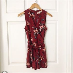 Abercrombie & Fitch Dresses & Skirts - Abercrombie Floral Romper