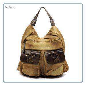 Handbags - SOLD-NEW Vintage Canvas Tote Backpack
