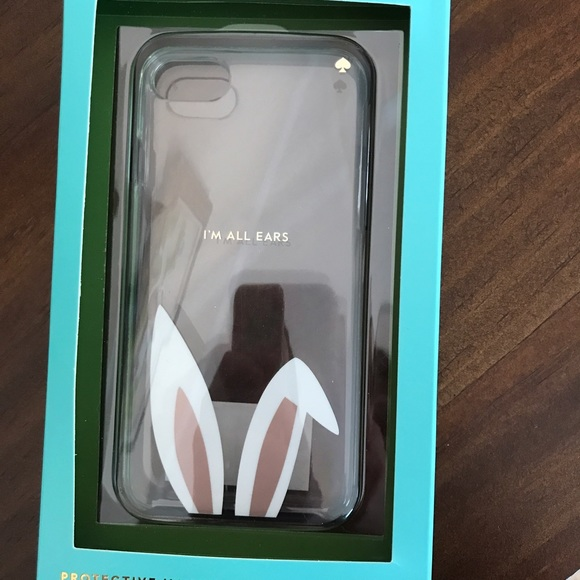 140c7ad8afc451 kate spade Accessories | Im All Ears Rabbit Iphone 7 Phone Case ...