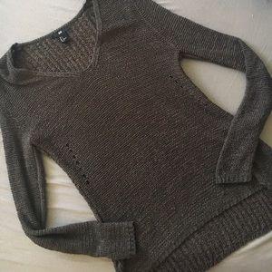 H&M Gray Knit Sweater