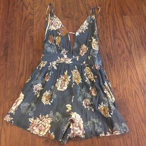 Audrey 3+1 Dresses & Skirts - Audrey 3+1 floral romper