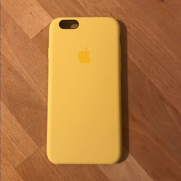 4b6842455af Apple Accessories | Iphone 66s Silicone Case Yellow | Poshmark