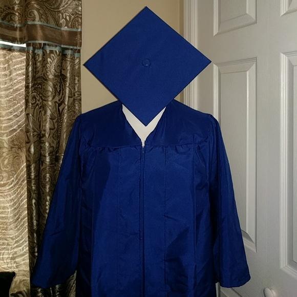 Herff Jones Other | Royal Blue Graduation Gown Cap | Poshmark