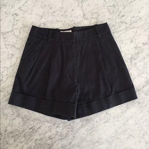 3.1 Phillip Lim Pants - Philip Lim preppy navy shorts