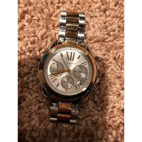 michael kors michael kors silver and gold from