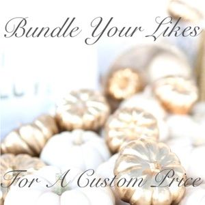 Bundle your likes for custom discount