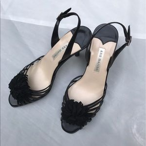 Ann Marino Shoes - Ann Marino - Primrose- Little Black Shoes Size 7.5