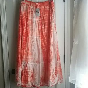 Michael Michael Kors Orange Tie Dye Skirt Sz. 3x
