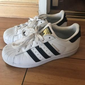 adidas Shoes - Adidas Superstar Shoes Size 4 US Kids