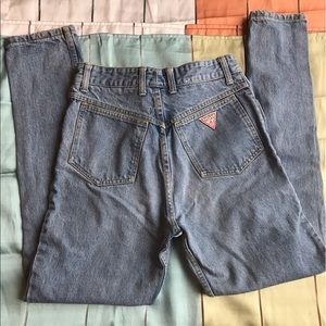 Guess Denim - VTG Guess size 31 high waisted mom jeans