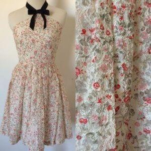 Rodarte Dresses & Skirts - Rodarte Ribbon Floral Lace Dress