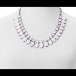 Jewelry - White Chroma Silvertone Necklace