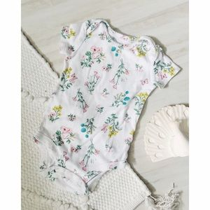 Carter's Other - Carter's Floral Cotton Onesie