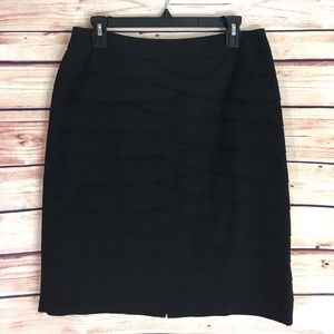Larry Levine Dresses & Skirts - ✨ Larry Levine black tiered pencil skirt