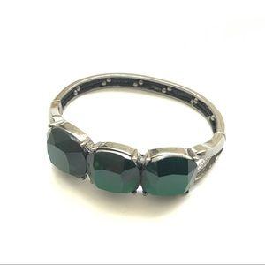 Jewelry - Stretchy Emerald Green Party Bracelet