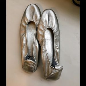 Arche Shoes - Arches Silver Ballet Flats Made in France