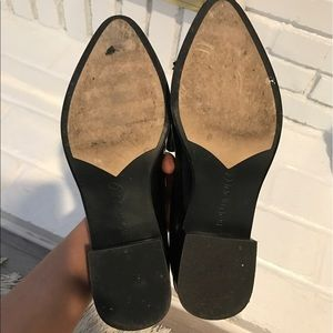 Boutique 9 Shoes - BLACK LEATHER LOAFERS
